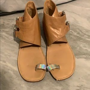 Donald J Pliner DMSX Cindy Tan Sandals 8.5
